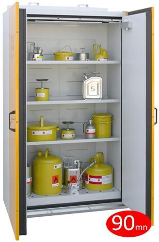 Armoire coupe-feu 90 mn - 2 portes - armoire haute -...