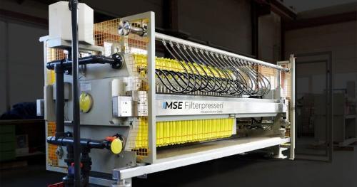 Filtro prensa de membranas
