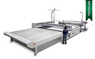 Laser cutting machine for textiles