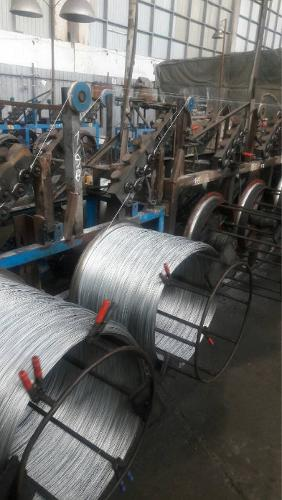 Production of galvanized / black, annealed / unannealed wire
