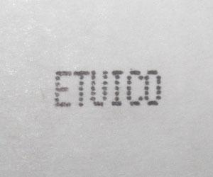 Etuico réalise le codage jet d'encre et laser