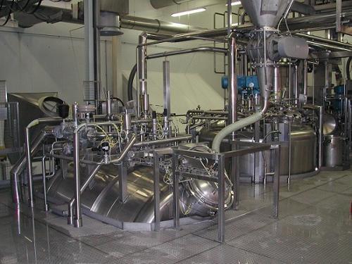 Sistemas de cocção por lotes para processamento de frutos,