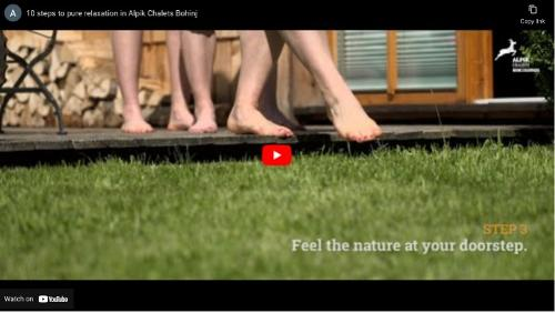 Video - Alpik Chalets - Bohinj