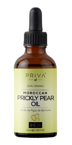 Priva Oil Prickly Pear Seed Oil (Cactus Barbary Fig Oil) Pur