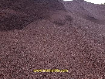 BROWN PUMICE FOR BLOVK MANUFACTURE
