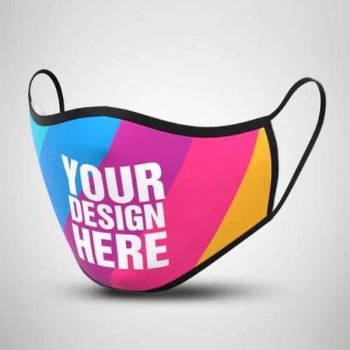 Fabric Cloth Mask  Custom Logo  Print  customize