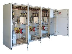 Power factor correction cabinets