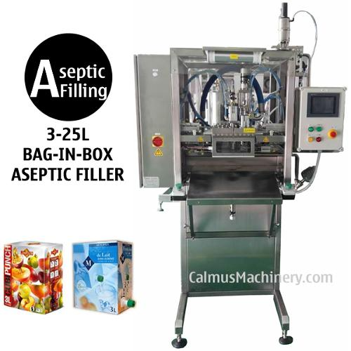 Semi-automatic Single-head Bag in Box Aseptic Filler