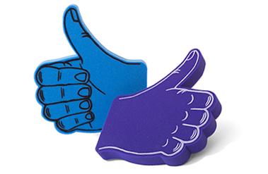 JUMBO-FINGER Thumbs Up