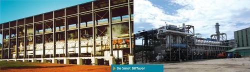 Sugar diffusion with De Smet Diffuser