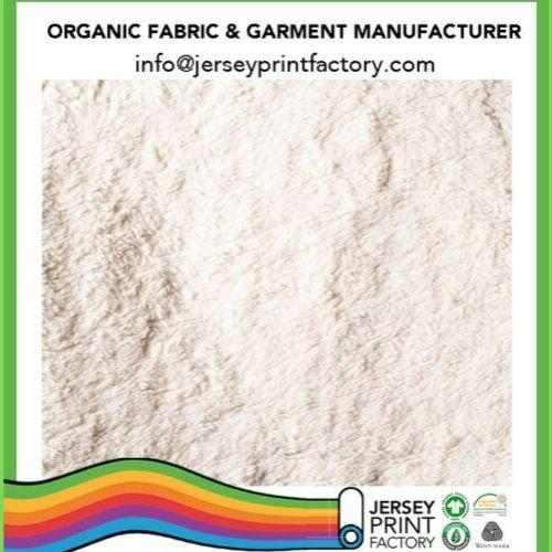 Organic Plush Teddy bear fabric gots certified for kids wear