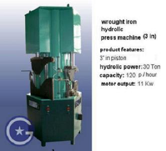 Wrought Iron Hydrolic Press Machine