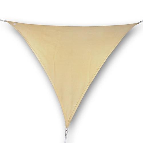 hanSe® Marken Sonnensegel 100% Polyester Dreieck 5x6x6...