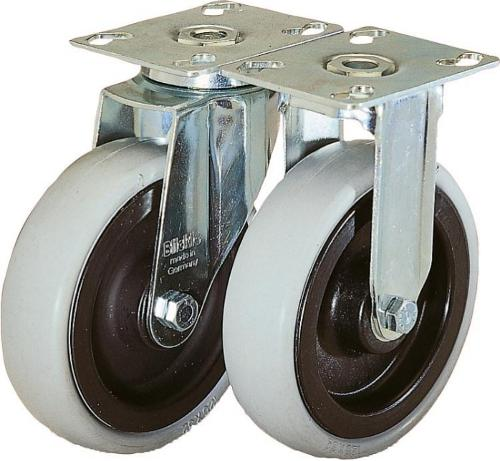 Roulette pivotante ou fixe modèle lourd