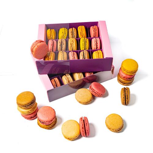 Coffret Luxe 15 Macarons Variés