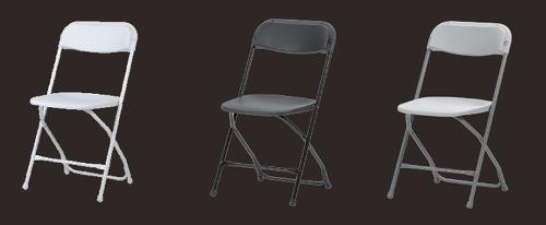 Chaise pliante empilable