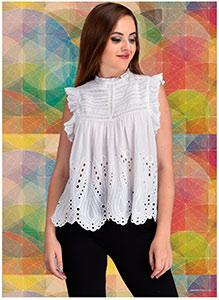 COTTON SHIFLI TOP