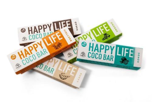 HAPPYLIFE COCO BAR – ORGANIC COCONUT BARS