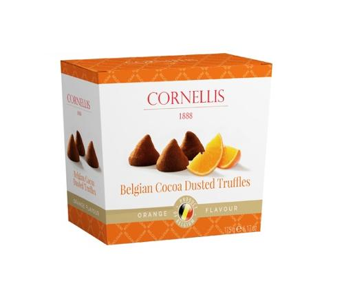 Belgian Trufles cocoa mit orange 175g