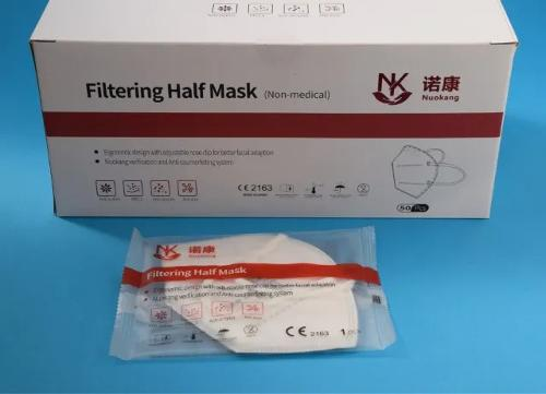 FFP2 masks with CE and DEKRA certificate (nuok -9501)