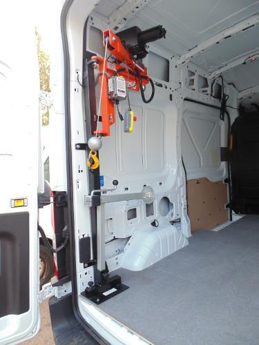 Ladekrane, Ladehilfen für Kasten- und Lieferwagen, Baukrane