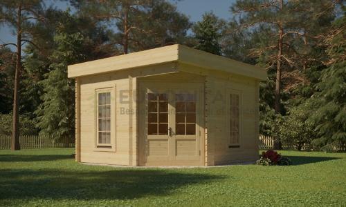 Log Cabin 3.5×3.5m – Iris 1