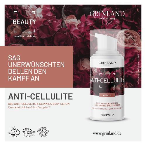 ANTI-CELLULITE Cannabidiol & Iso-Slim-Complex™ - 100 ml