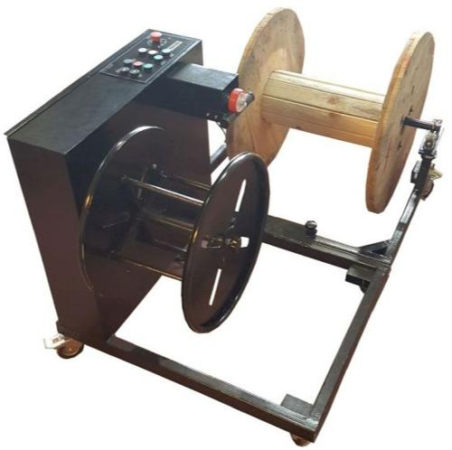 ROPE/CABLE REEL ROTATOR and WINDING MACHINE (KHS-10)