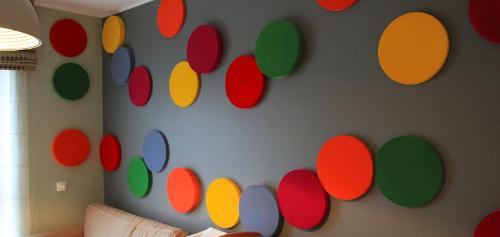 Acoustic Circle Wall Panels