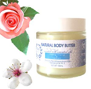 Natural nurturing body butter