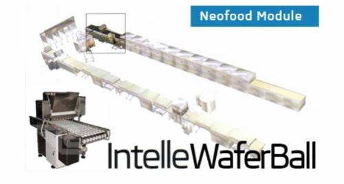 Wafer balls production line