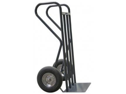 Diable professionnel BTP 400 kg - roues caoutchouc