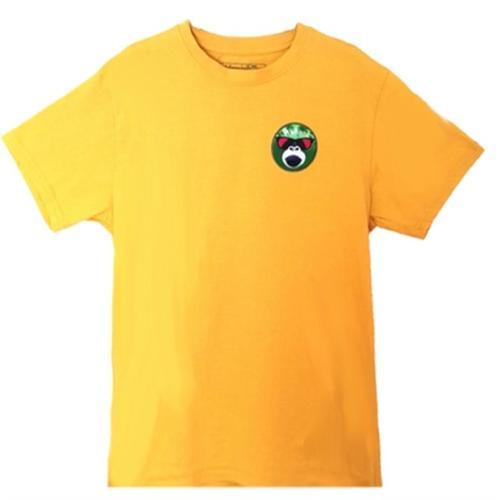 Camiseta Surfera Amarilla Monkey Face
