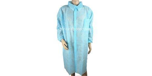 Лабораторный халат синий