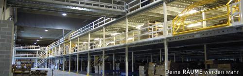 Stahlbaubühnen und Lagerbühnen