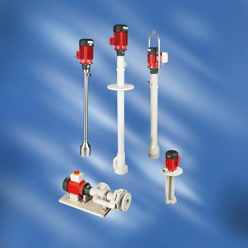 Centrifugal immersion pumps
