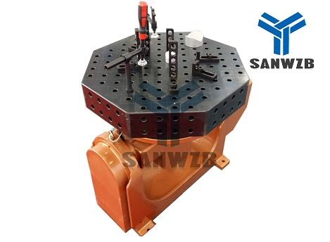 Octagonal Welding Table Robot Welding Table for Robot Automa
