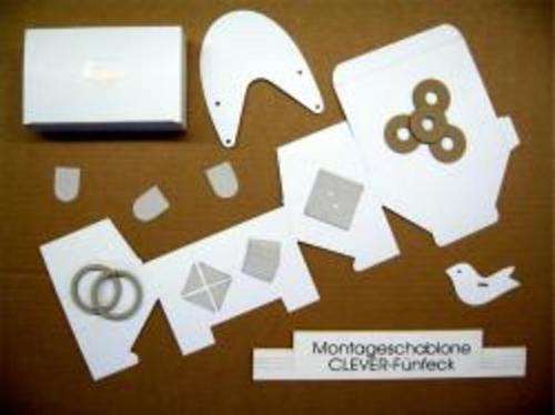 Stanzteile aus Pappe und Papier