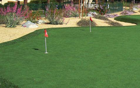 Artificial grass for golf course