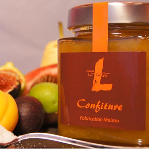Confiture extra-Abricot Oranges de Provence