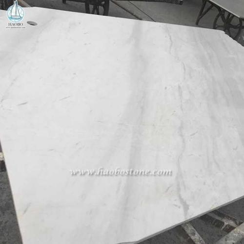 Jazz White Marble Slabs Tiles