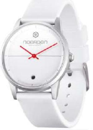 LIFE Hybrid Watch White Silicon Band