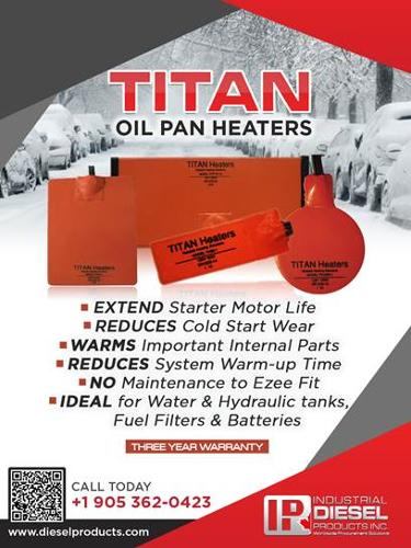 TITAN Oil Pan Heater