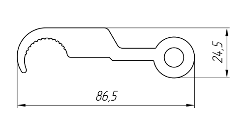Aluminum Profile For Electrical Purposes Ат-2366