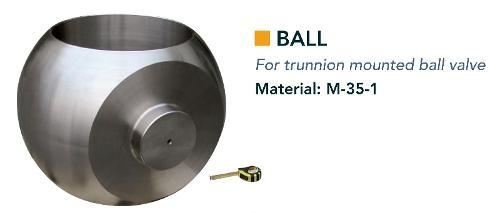 Ball & ball trunnion bearing