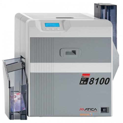New Matica XID8100 Retransfer ID Card Printer