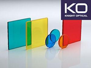 Precision Color Glass Filters for Inline Cameras