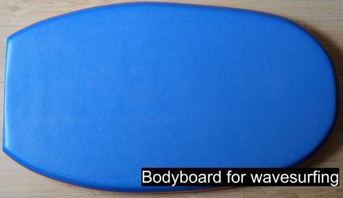 Bodyboard for wavesurfing