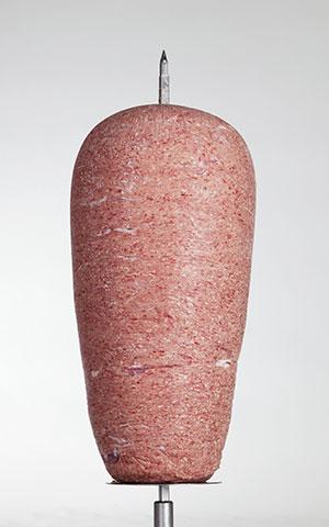 Drehspieß aus Kalbfleisch gehackt extra