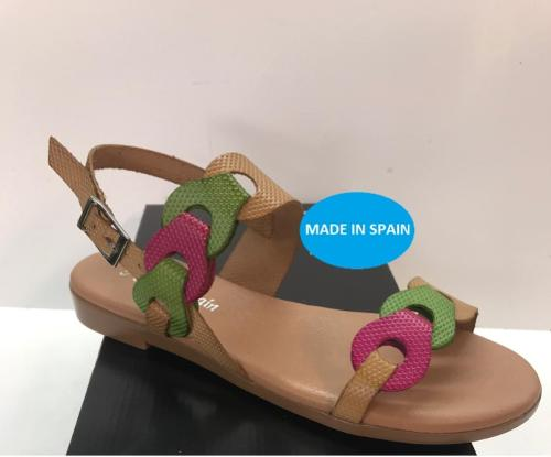 SANDALIAS DE PIEL MADE IN SPAIN
